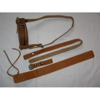 Крепление для лыж охотпромысловых (кожа) с ремнями КМ 009